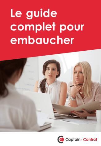 Guide pour embauche