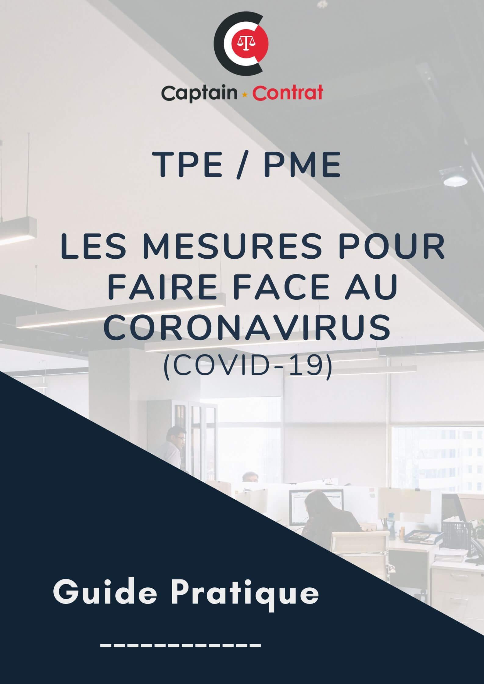 Coronavirus - mesures en entreprise (1)