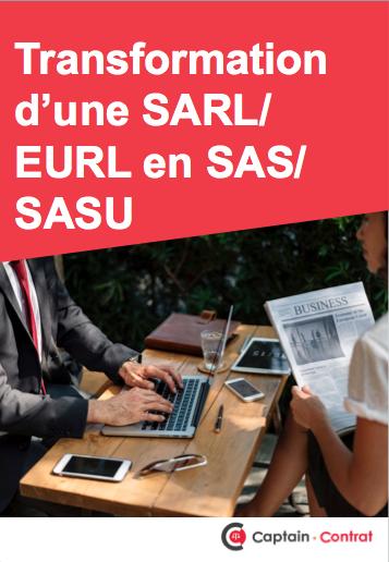 Ebook transformer EURL/SARL en SASU/SAS
